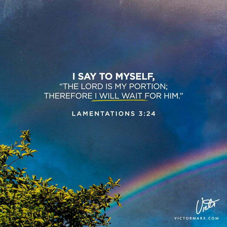 lamentations 3:24 victor marx