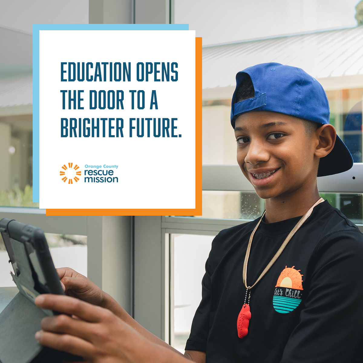 education opens the door to a brighter future donation