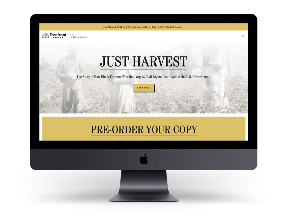 just harvest by greg a. francis
