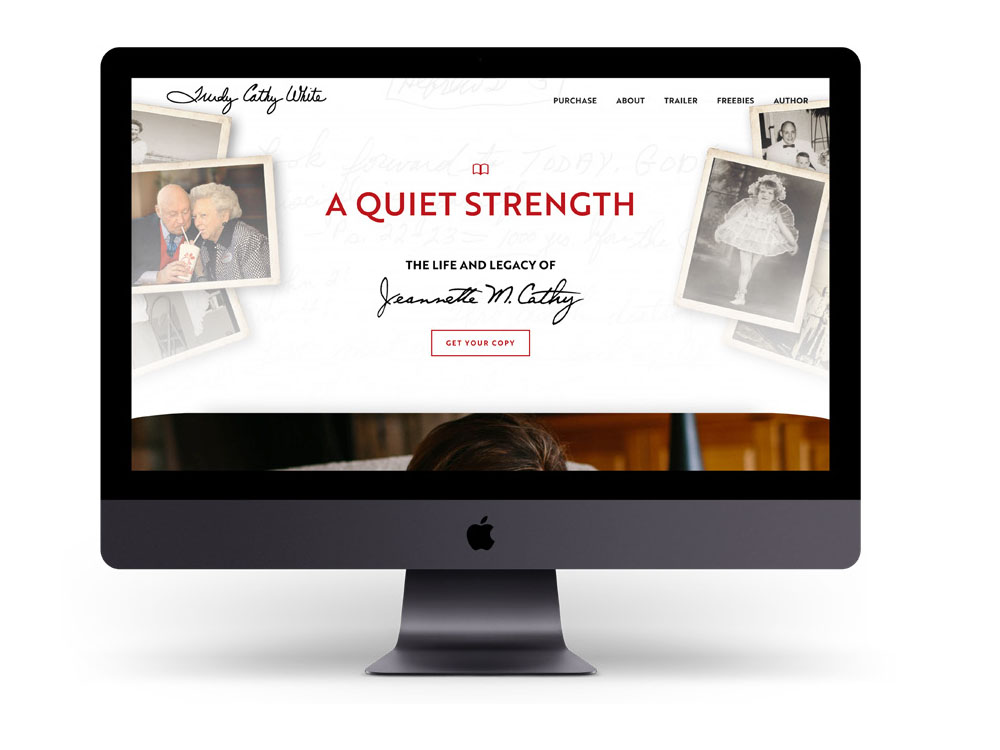 A Quiet Strength - Trudy Cathy White