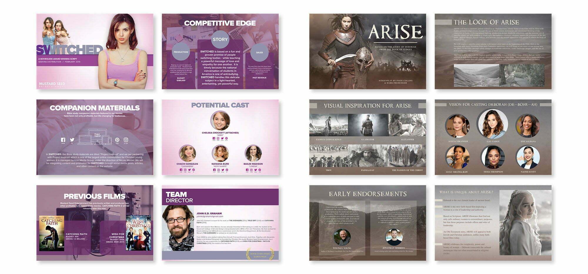 Epic Marketing - Graphic design